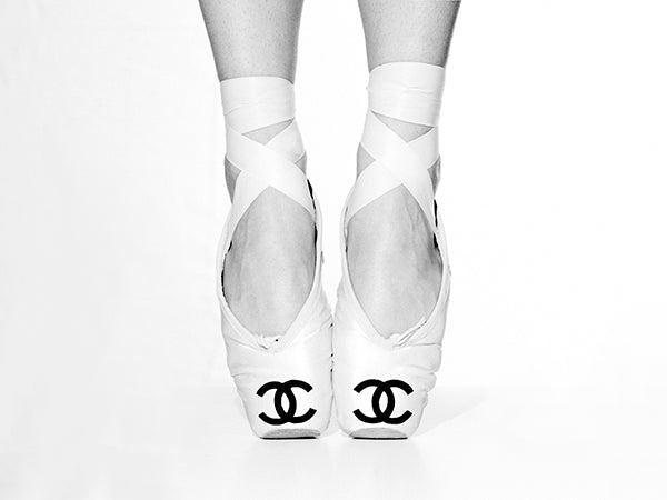 Channel Ballet Shoes by Tyler Shields