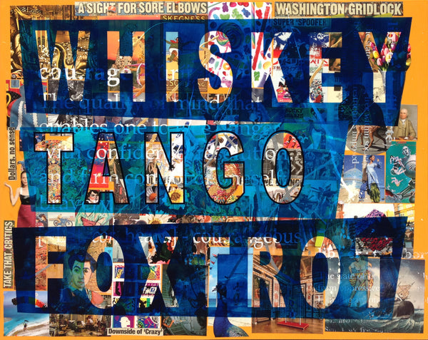 Whisky, Tango, Foxtrot, 2015 by Peter Tunney at GALLERY M