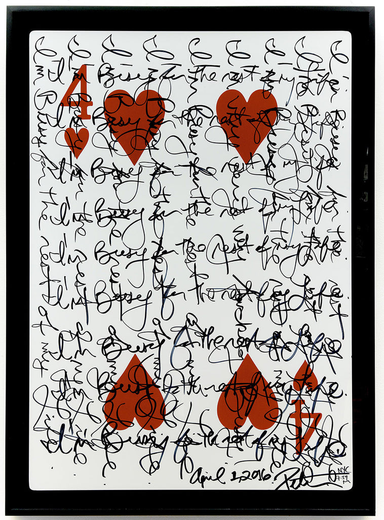 Four of Hearts, 2016