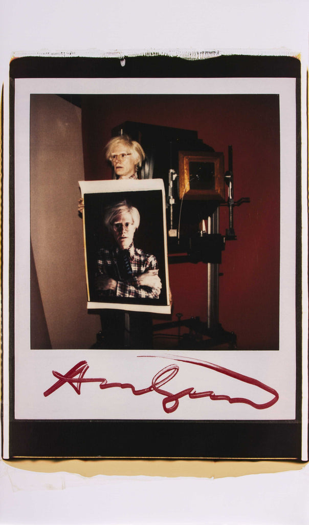 Warhol Self Portrait - Unique, 2015