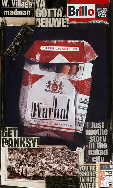 Warhol Cigarettes - Unique (Get Banksy), 2015