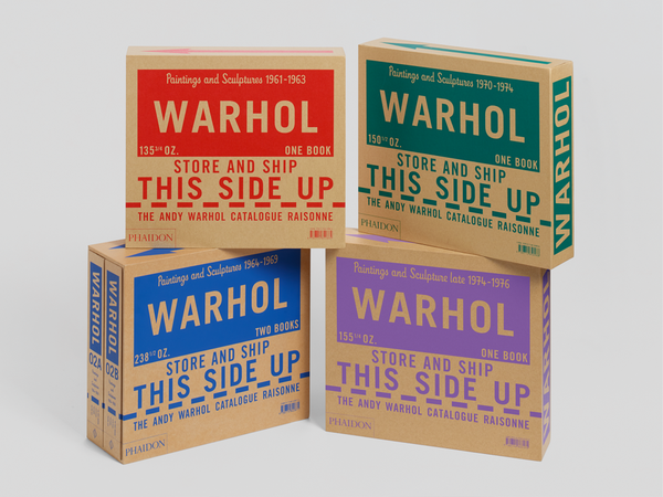 Andy Warhol Catalogue Raisonné Volumes 1 - 4