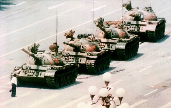 Tiananmen Square Demonstration by Jeff Widener