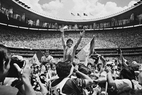 Maradona 1986 Mexico by Yarrow - All Rights Reserved