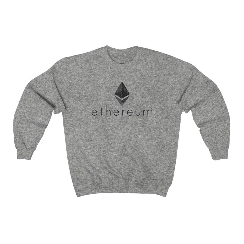 DISTRESSED ETHEREUM SWEATSHIRT