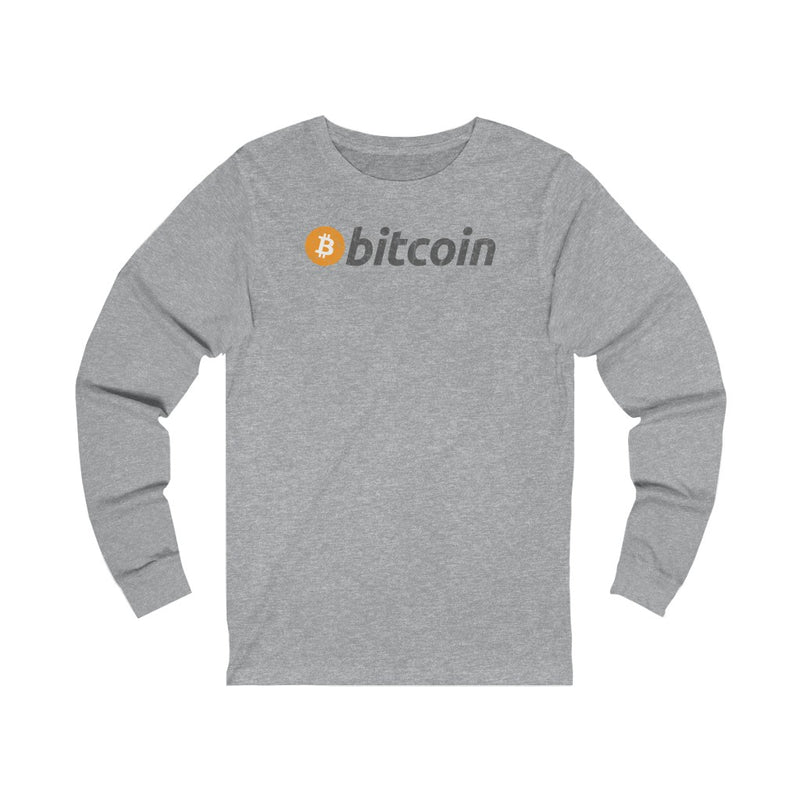 DISTRESSED BITCOIN LONG SLEEVE