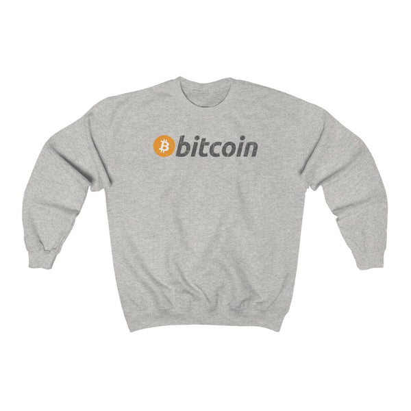 DISTRESSED BITCOIN SWEATSHIRT