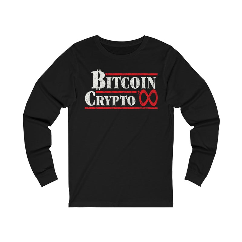1984 VOTE BITCOIN LONG SLEEVE