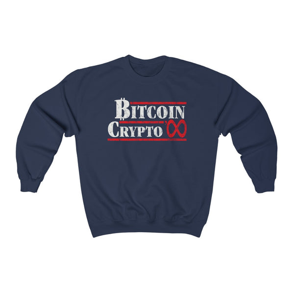 1984 VOTE BITCOIN SWEATSHIRT