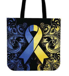 DOWN SYNDROME AWARENESS TOTE