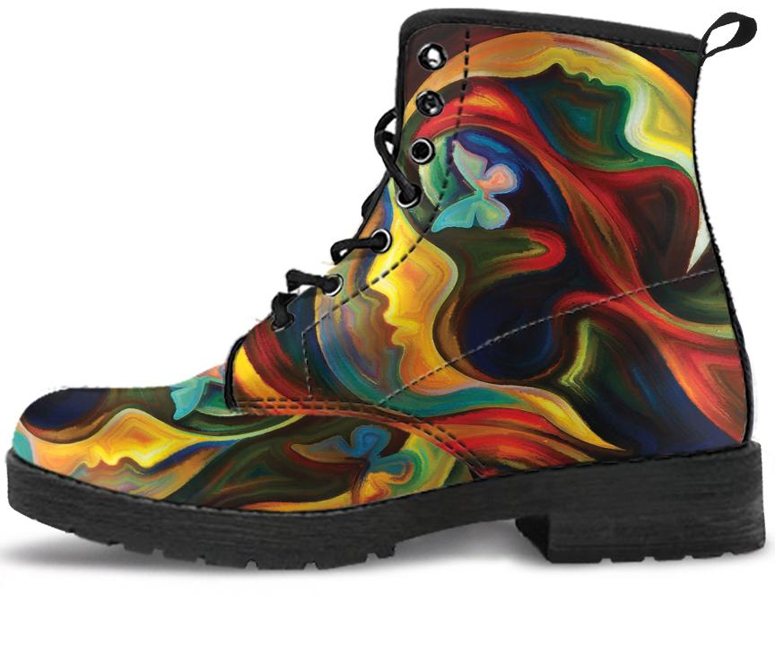 Colorful Spiritual 3 Handcrafted Boots