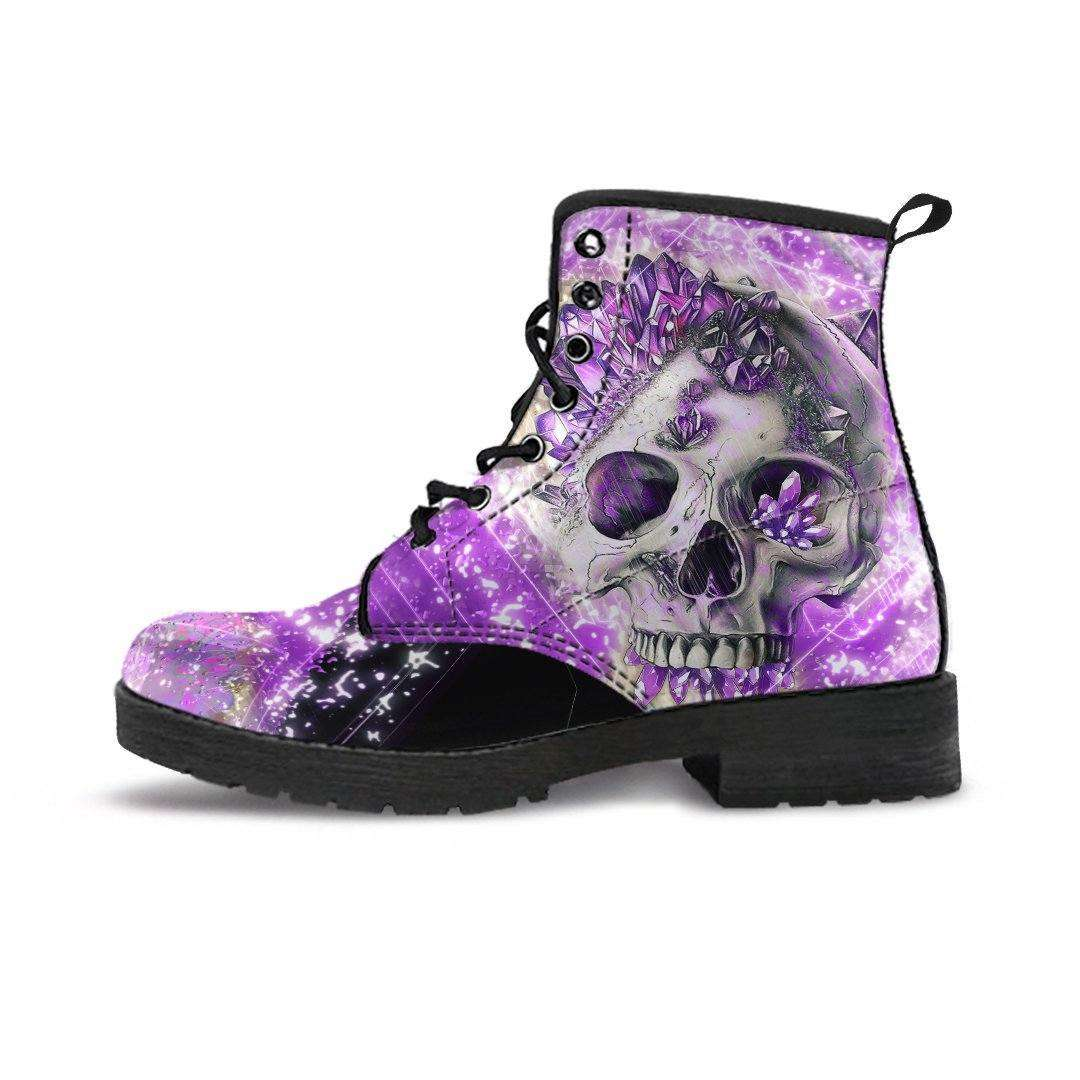 Crystal Skull Handcrafted Boots