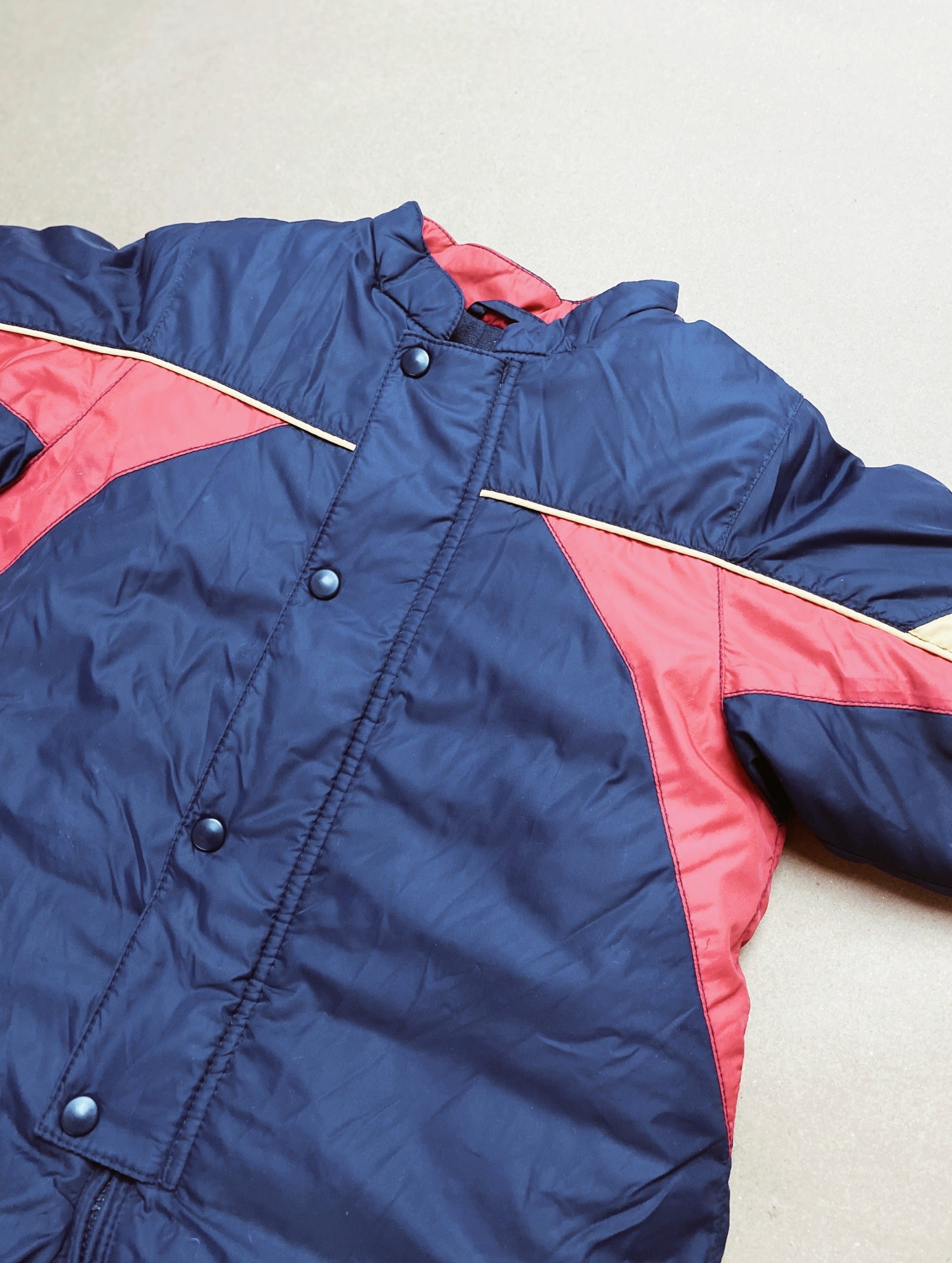 Vintage Quilted Snowsuit Age 6-9 Months