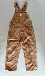 Load image into Gallery viewer, Carhartt Frontier Brown Dungarees Age 6 Years