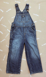 Load image into Gallery viewer, Vintage Osh Kosh Denim Dungarees Age 5