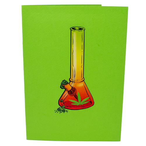 Rasta Bong 3D Drug Card