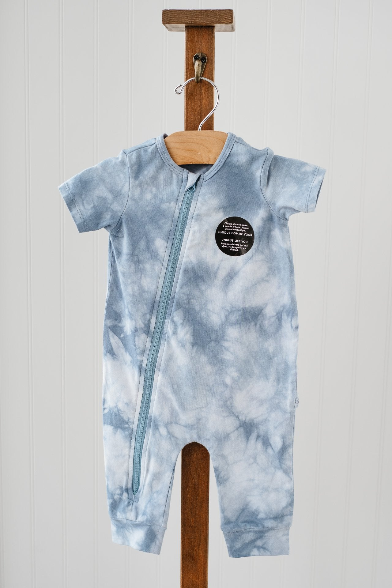Miles Baby Tie Dyed Union Suit