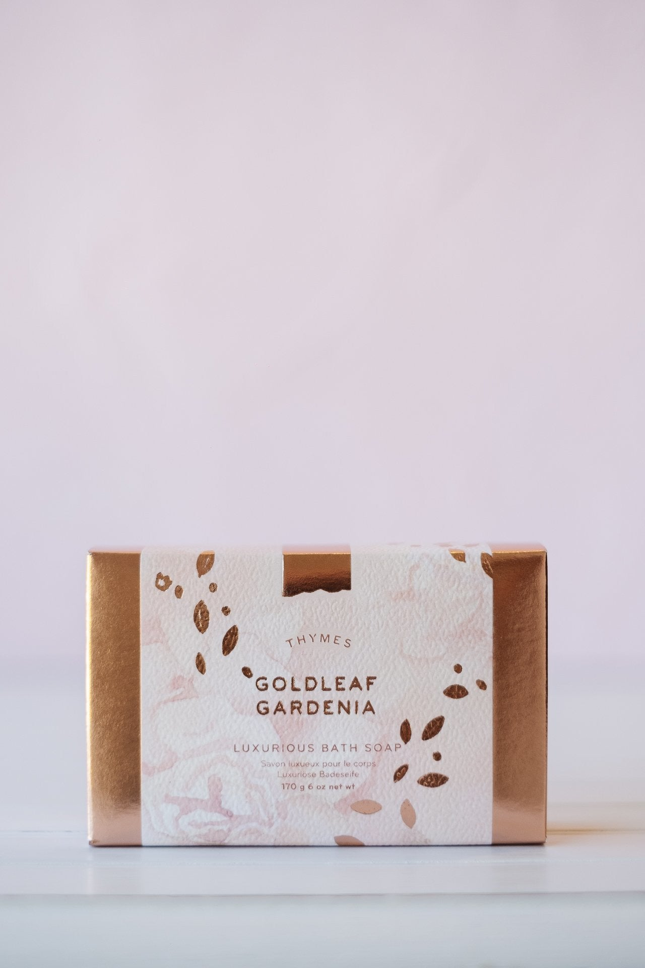 Goldleaf Gardenia Bar Soap