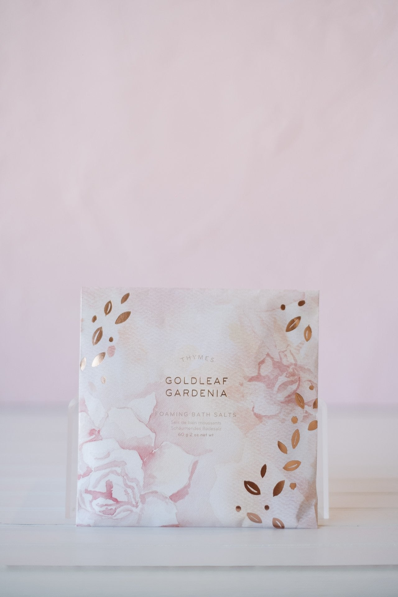 Goldleaf Gardenia Foaming  Bath Salts