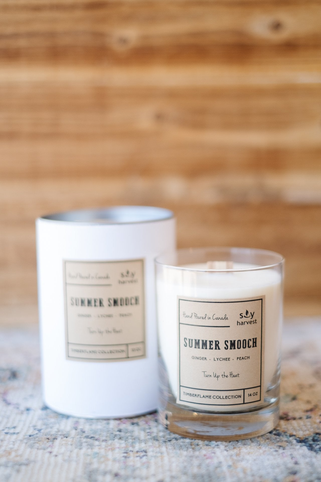 Summer Smooch Soy Harvest Candle