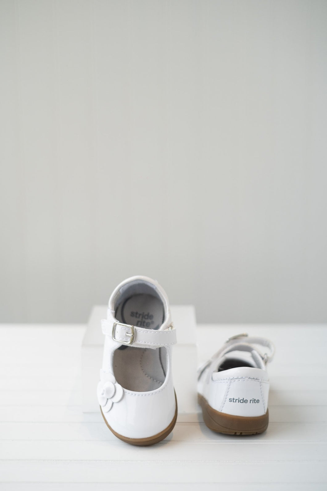 The Ava Shoe in White by Stride Rite