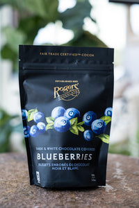 Dark & White Chocolate Covered Blueberries