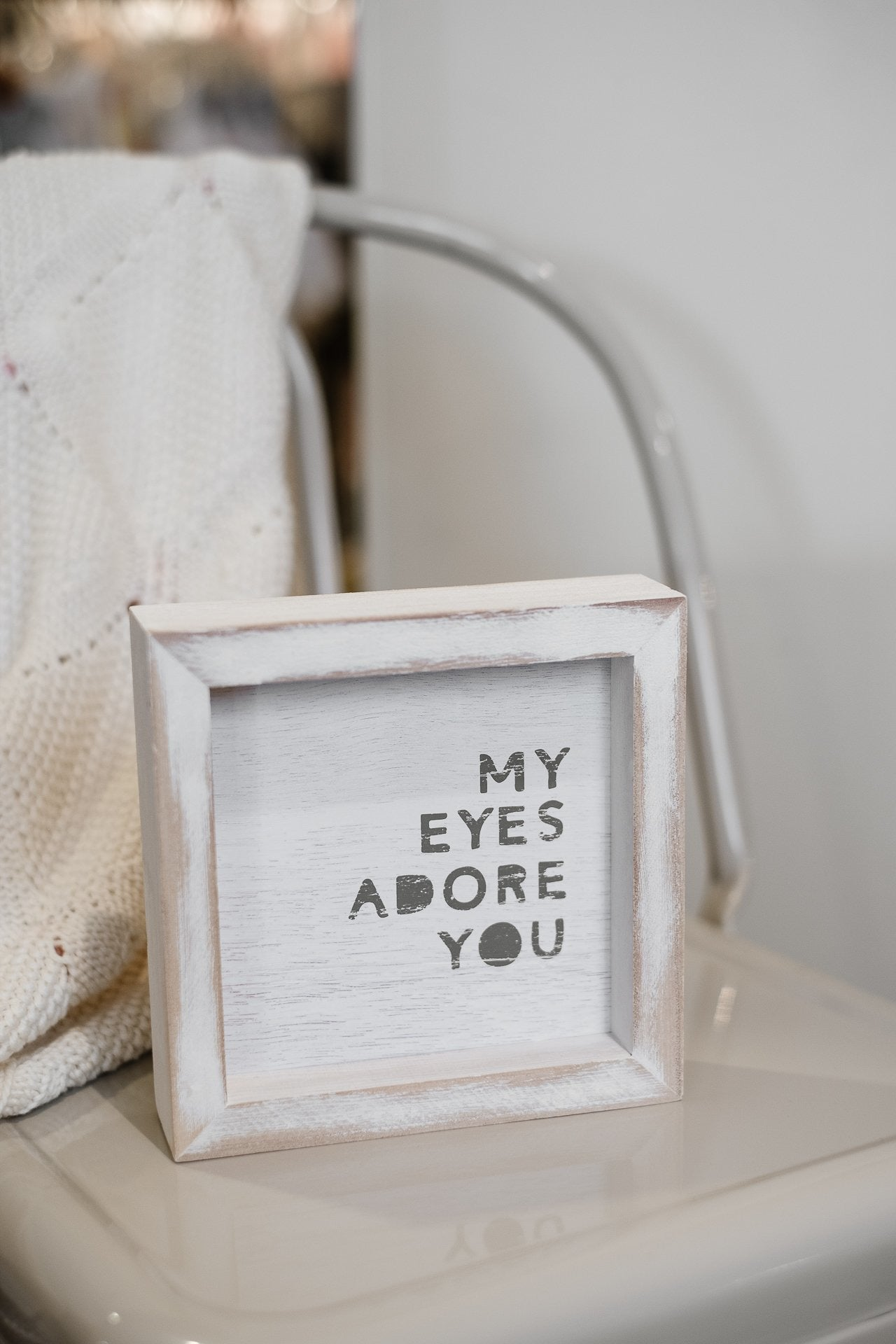 Santa Barbara Framed Word Print My Eyes