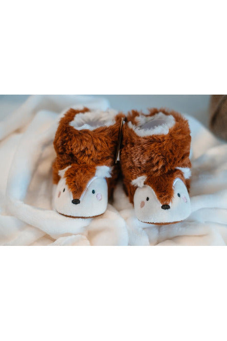 Joules Fox Baby Slippers