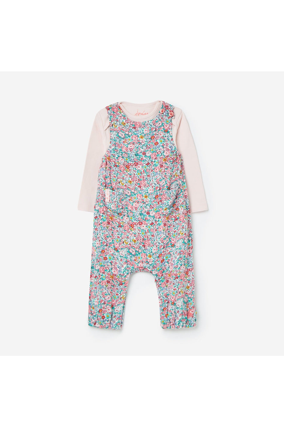 Joules Baby Girl 2Pce.  White Ditsy Floral