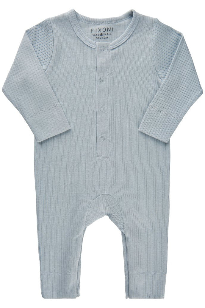 Fixoni Baby Boy Footless Romper    34218    Baby Blue