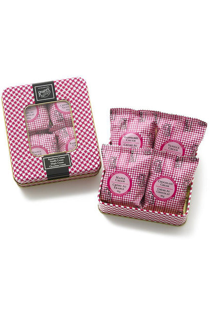 Rogers 4 Piece Houndstooth Tin