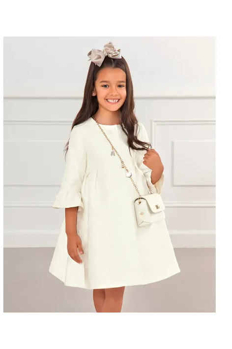 Abel and Lula Cream Coat 5317