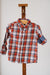Losan Boy Rust Plaid Shirt 025-3003