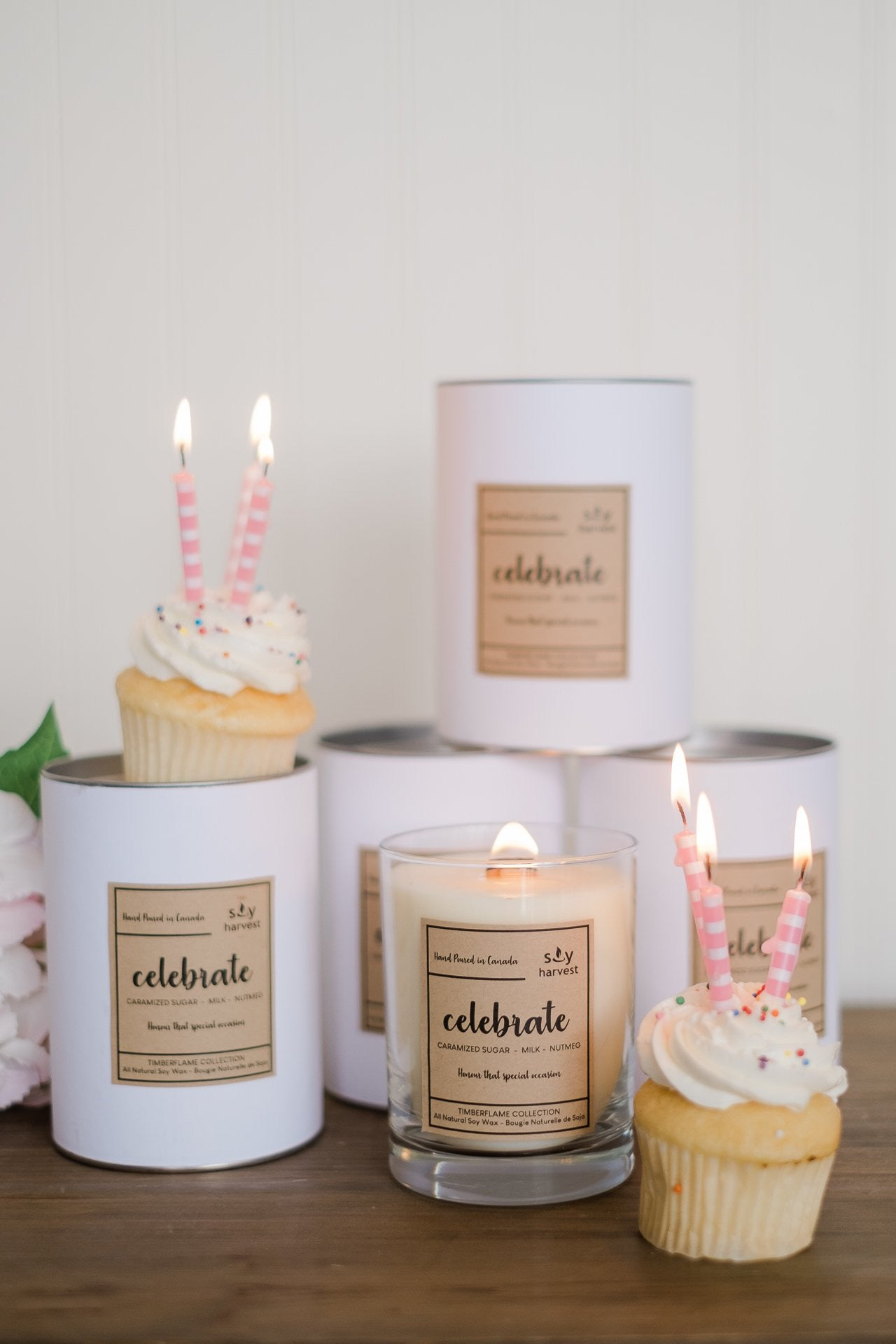 Soy Harvest Celebrate Candle