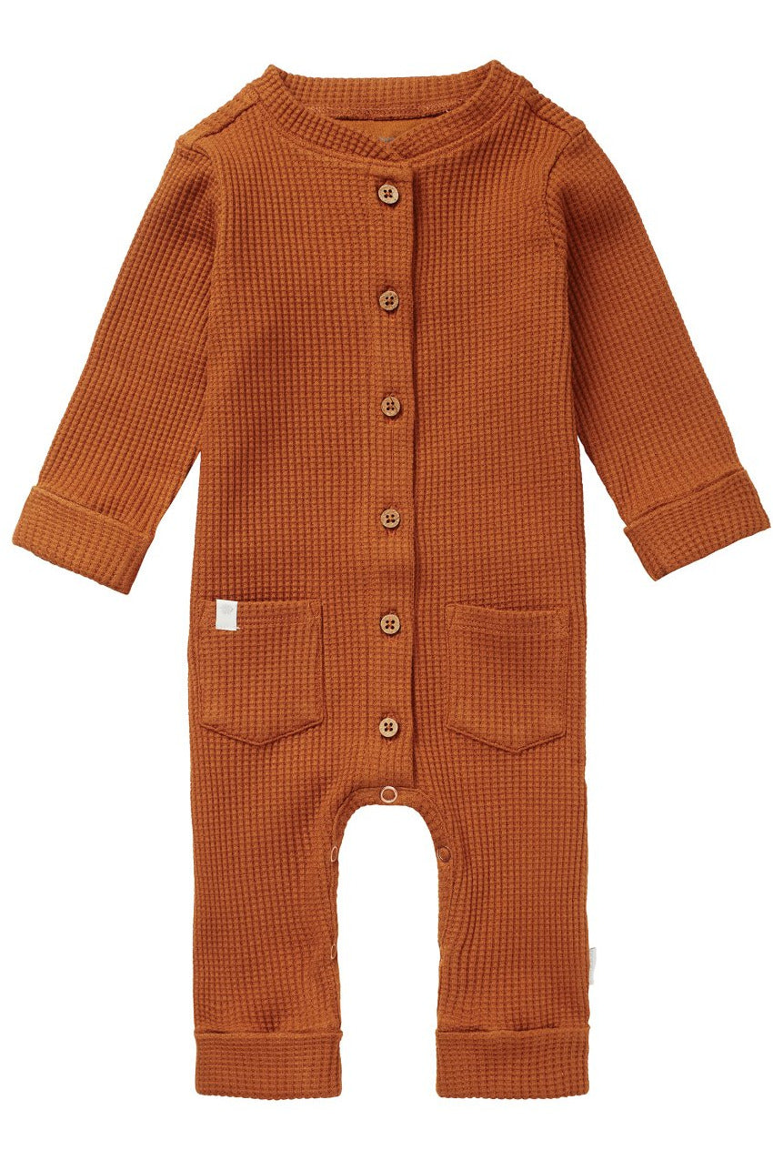 Noppies Baby Playsuit    1411116   Roasted Pecan