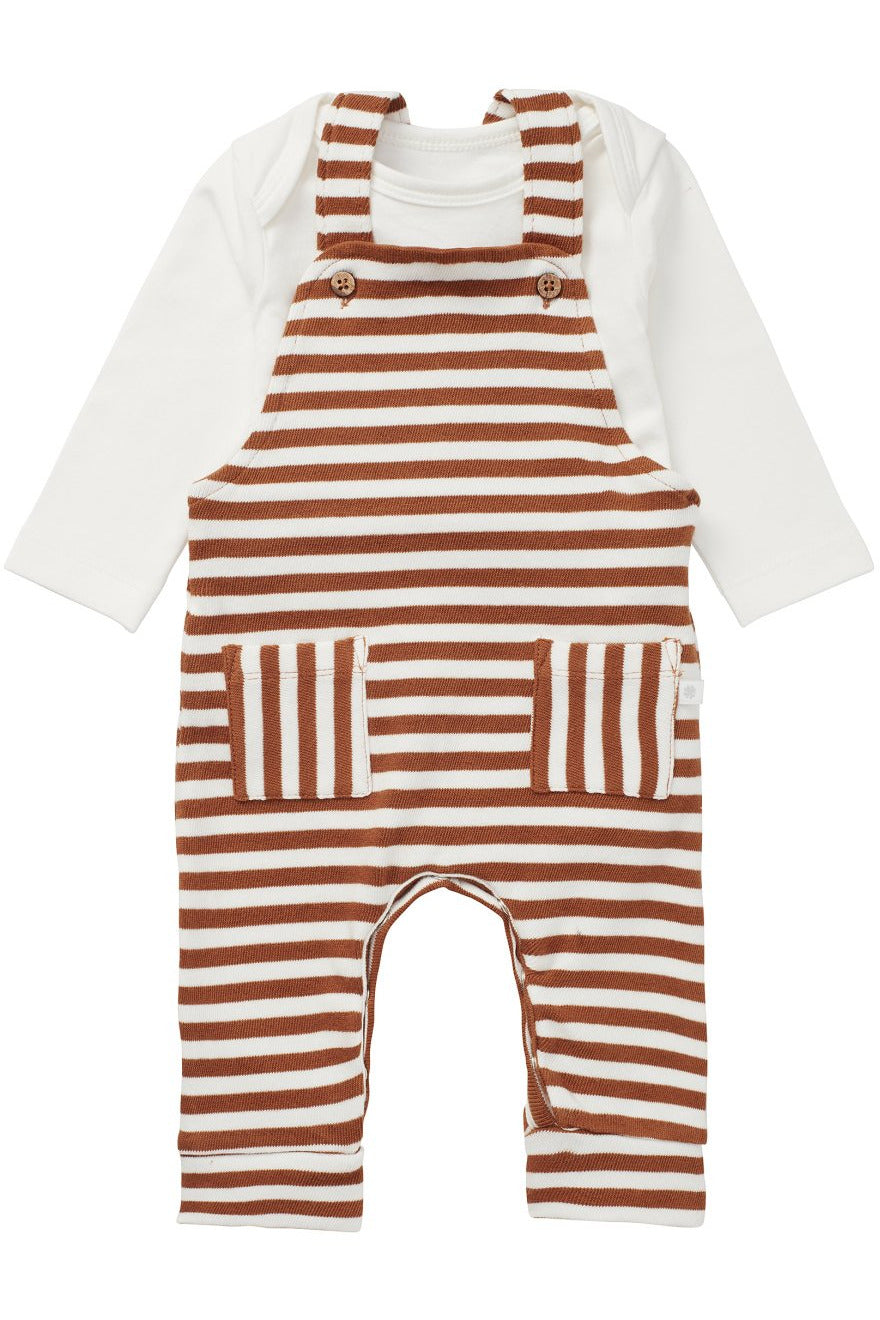 Noppies Baby Romper Set     1412012    Roasted Pecan