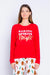 Baking Spirits Bright L/S Red T-shirt RVFLLS