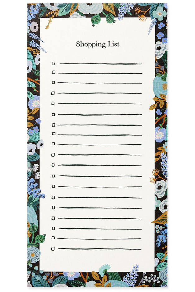 Rifle Paper Co. Notepad Garden Party Blue