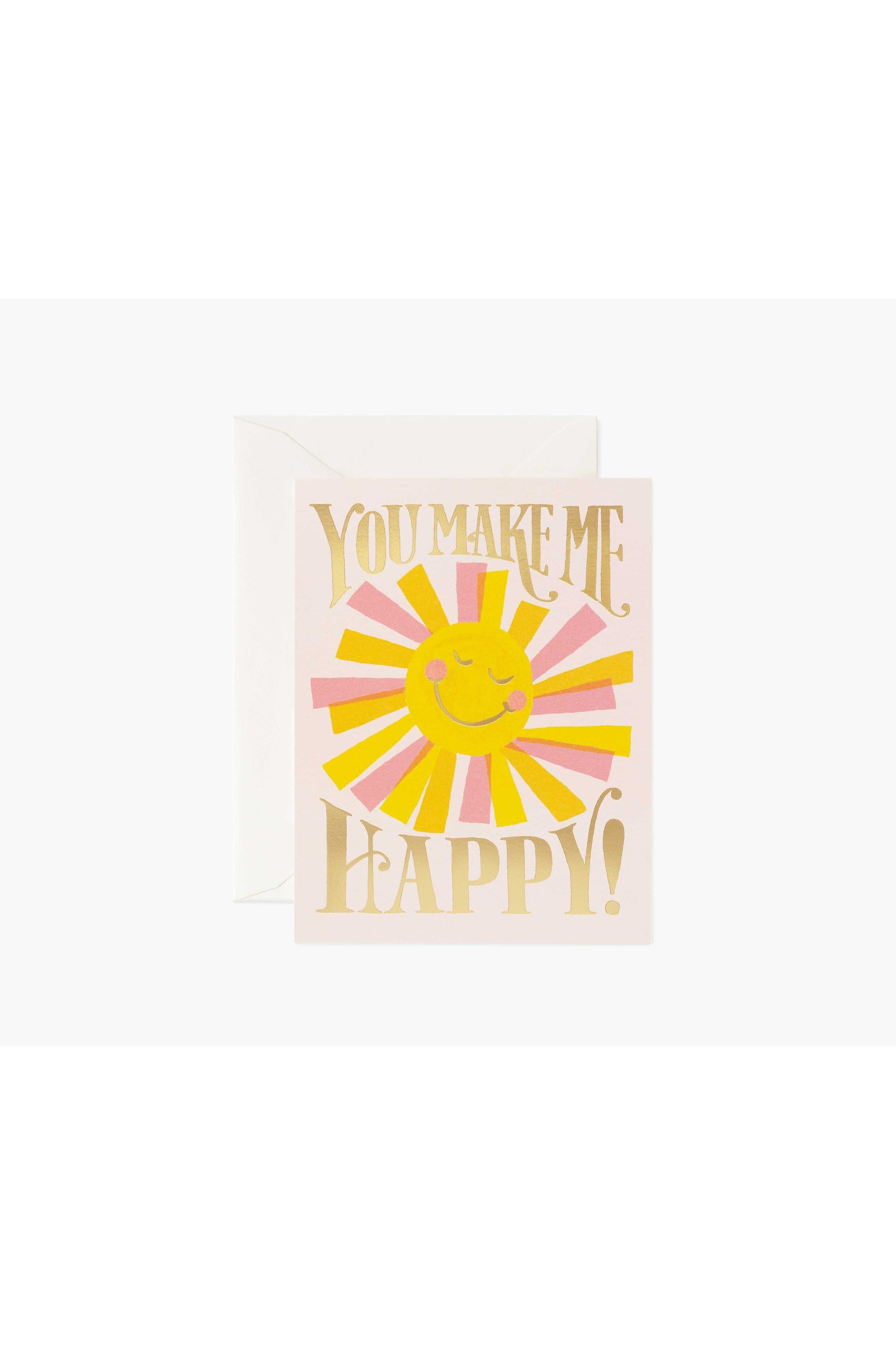 Rifle Paper Co. Card You Make Me Happy