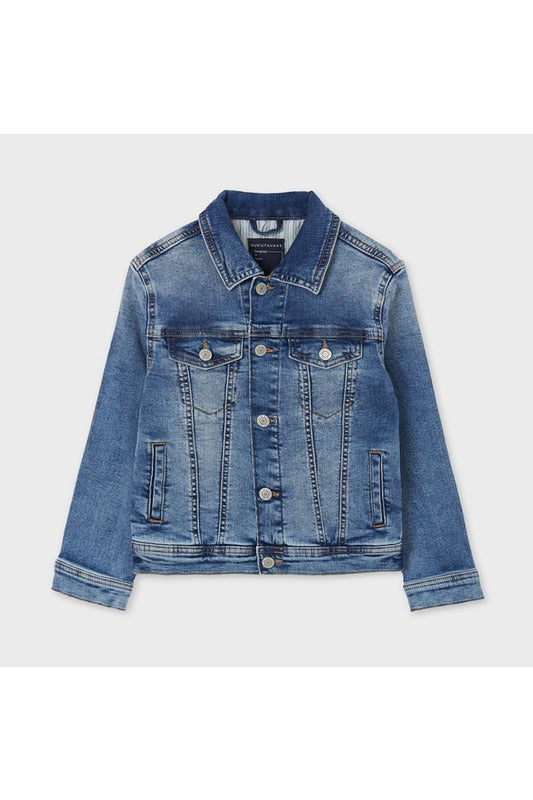 Mayoral Junior Boys Denim Jacket     6481-16    Medio