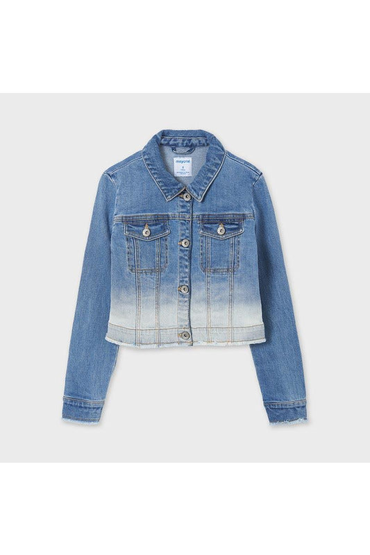 Mayoral Dip Dye Denim Jacket    6470-58