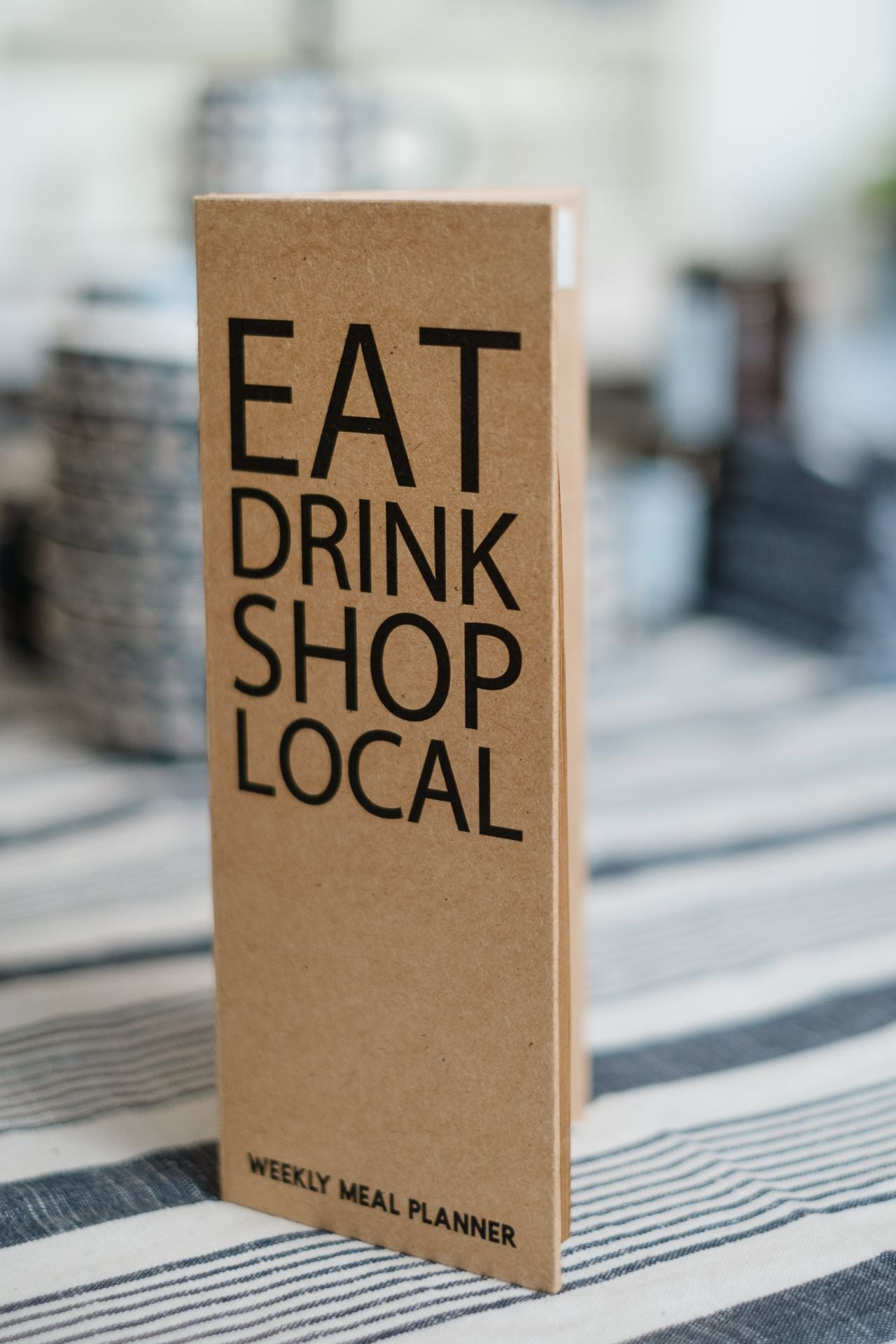 Drink, Shop Local Notepad