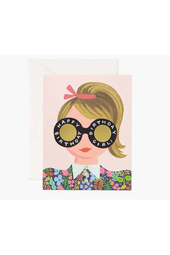 Rifle Paper Co. Card Meadow Birthday Girl
