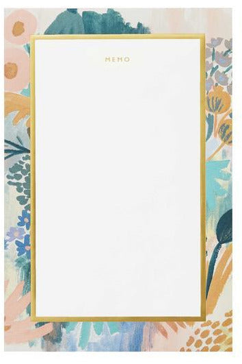 Rifle Paper Co. Lg. Notepad Luisa