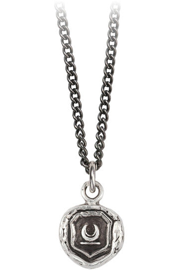 Pyrrah New Beginnings Necklace Silver 18""