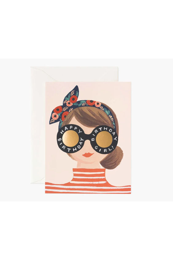 Rifle Paper Co. Card Birthday Girl