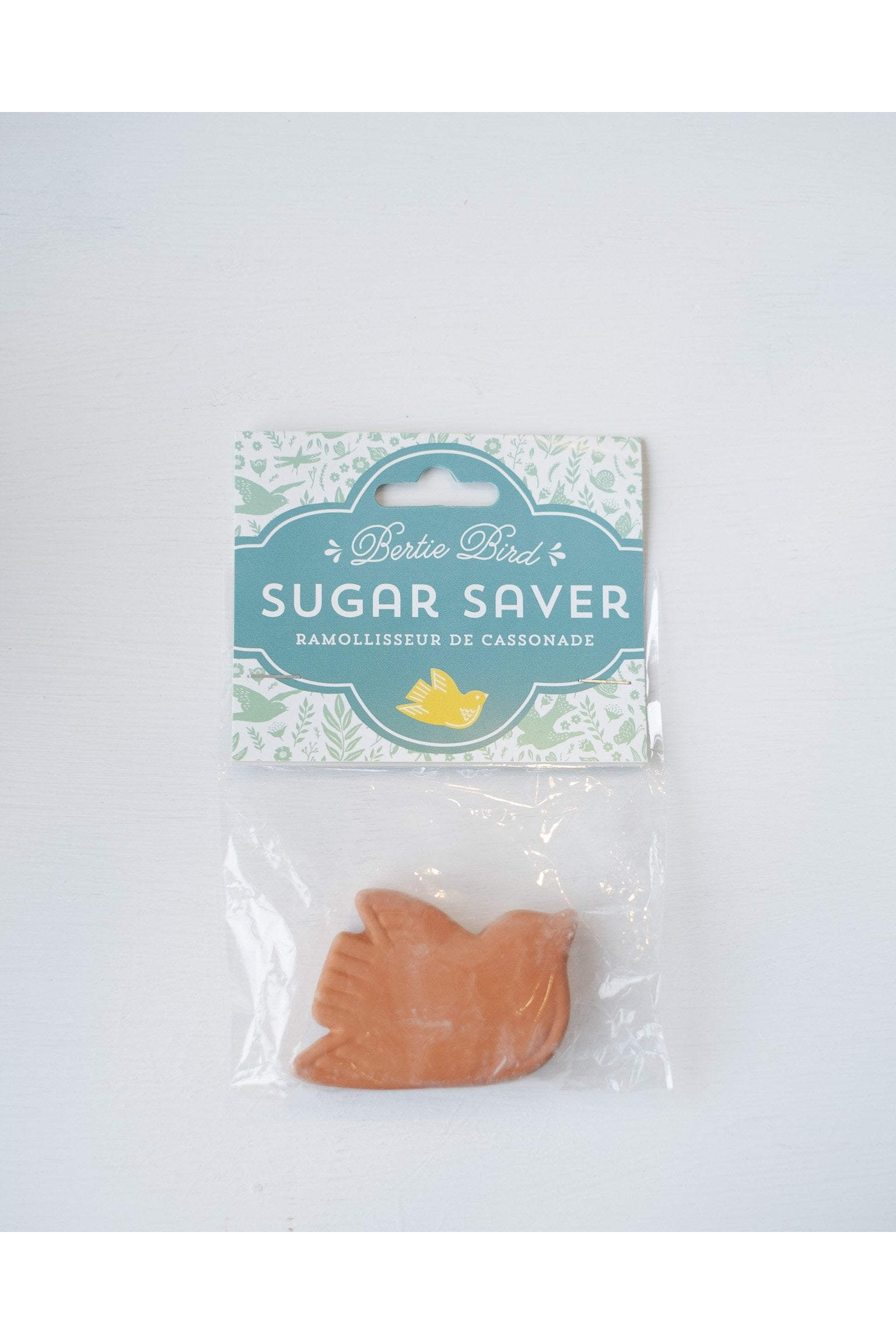 Bertie Bird Brown Sugar Saver