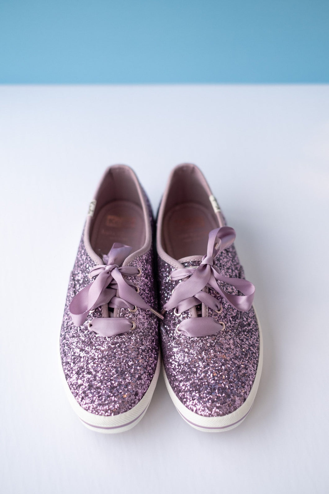 Keds Kate Spade Grape Lace Up Sneaker