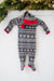 Loved Baby Holiday Fair Isle Onesie