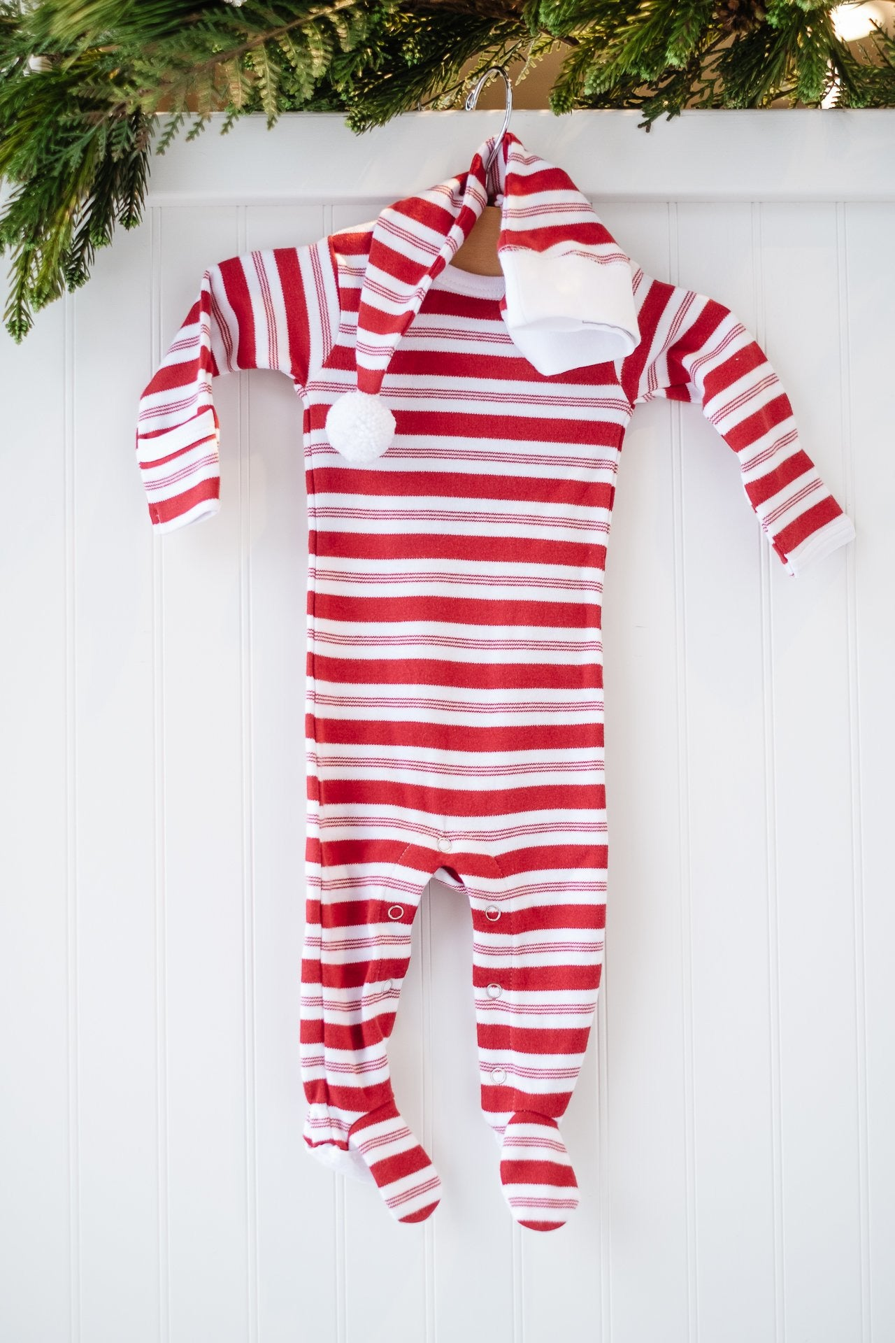 Loved Baby Holiday Peppermint Onesie